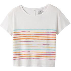 Prana Chez Camiseta Manga Corta Mujer, blanco